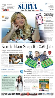 Cover Surya 21 Januari 2020