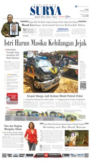 Cover Surya 22 Januari 2020