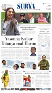 Cover Surya 23 Januari 2020