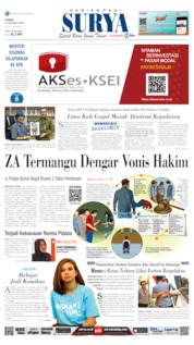 Cover Surya 24 Januari 2020