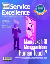 Cover Majalah Service Excellence ED 01 April 2019