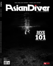 Asian Diver Magazine Cover ED 154 December 2019