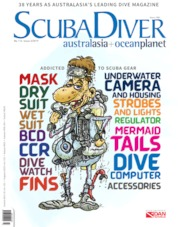 Scuba Diver Magazine Cover ED 03 October 2019