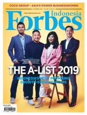 Cover Majalah Forbes Indonesia November 2019