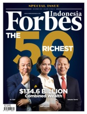 Forbes Indonesia Magazine Cover December 2019