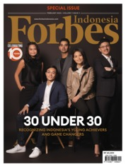 Forbes Indonesia Magazine Cover February 2020