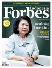 Forbes Indonesia Magazine Cover April 2020