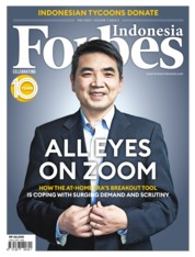 Forbes Indonesia Magazine Cover May 2020
