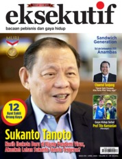 Cover Majalah eksekutif April 2020