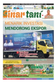 Sinar tani Magazine Cover ED 3817 October 2019