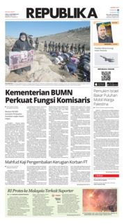 Koran Republika Cover 23 November 2019