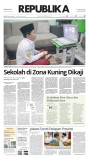 Koran Republika Cover 14 July 2020