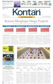 Koran Kontan Cover 30 May 2020