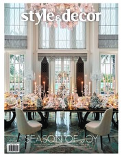 Style & decor Magazine Cover November-December 2018