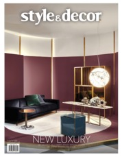 Style & decor Magazine Cover ED 71 July 2019