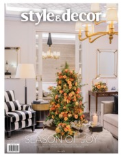 Style & decor Magazine Cover ED 73 December 2019