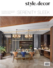 Style & decor Magazine Cover ED 75 May 2020
