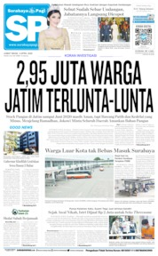 Cover Surabaya Pagi 03 April 2020
