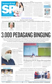 Cover Surabaya Pagi 06 April 2020
