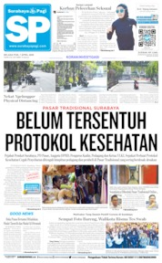 Cover Surabaya Pagi 07 April 2020