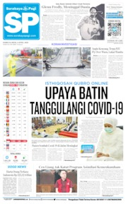 Cover Surabaya Pagi 09 April 2020